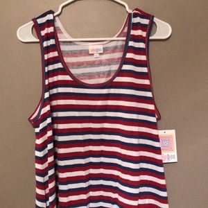 Red, White, and Blue Perfect Tank